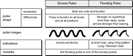 4.1.42.table The Excessive, Full, Replete Pulse (Shi Mai)